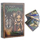 Cards Rider, 45 Mazzo di Carte dei Tarocchi Vintage per Principianti, Interessante Carta di Orientamento per la Divinazione del Destino, Giocattolo per Predire la Fortuna per Feste, Viaggi, Famiglia