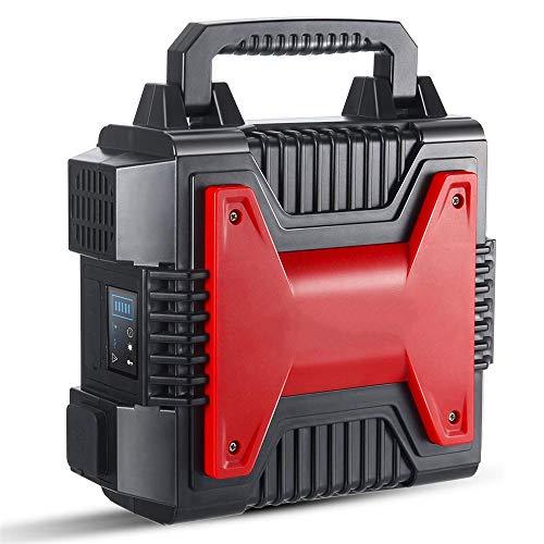 300 W draagbare zonnegenerator, oplaadbare generator-voeding, 54000 mAh lithiumbatterij, 12 V AC DC stopcontact, USB-aansluiting, stroomvoorziening voor outdoor-campinguitstapjes in noodgevallen