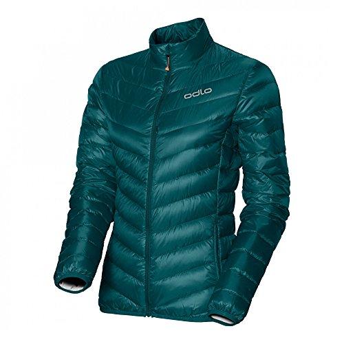 Odlo Jacke Jacket Air Cocoon Femme, Vert Bouteille, XL