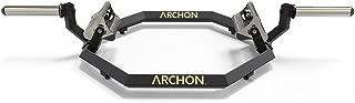 ARCHON Multi Grip Trap Bar Bar | Hex bar | Farmers Walk Bar | Row Bar | Weight Bar | Powerlifting Bar | Olympic Lifting Barbell | Crossfit Lifting Bar | Exercise Equipment | Weight Lifting Bar
