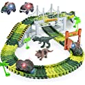 156-Piece Toyk Dinosaur World Road Race Track Playset