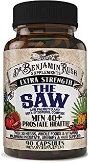 Sponsored Ad - Dr Benjamin Rush Prostate Supplements for Men 40 Plus with the SAW, Saw Palmetto, Beta Sitosterol, Complete...