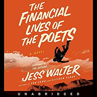 The Financial Lives of the Poets audiobook cover art