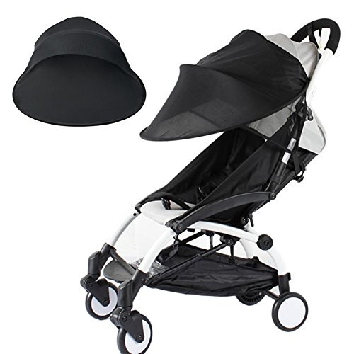 Toldo para cochecito o silla de paseo, protección solar, universal, para cochecitos y cochecitos deportivos, resistente al viento, a la lluvia, protección solar, toldo, accesorio universal