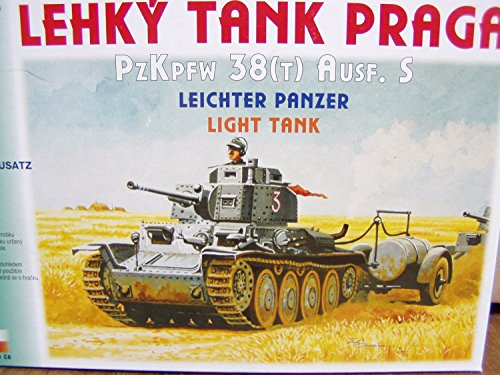 Modellbausatz, PzKpfw 38(T), Ausf. S, 1:87