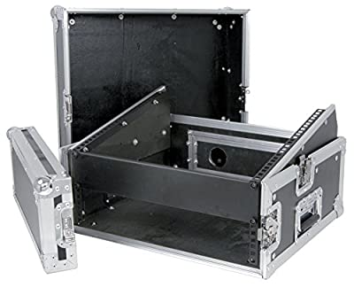 Citronic 19-inch Dj Combo Flight case 8u Mixer 2u Amplifier Rack Case