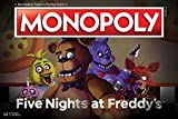 USAOPOLY Monopoly Five Nights at Freddy's Board Game | Based on Five Nights at Freddy's Video Game | Officially Licensed Five Nights at Freddy's Merchandise | Themed Classic Monopoly Game