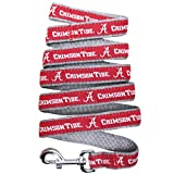 Pets First Collegiate Pet Accessories, Dog Leash, Alabama Crimson Tide, Small