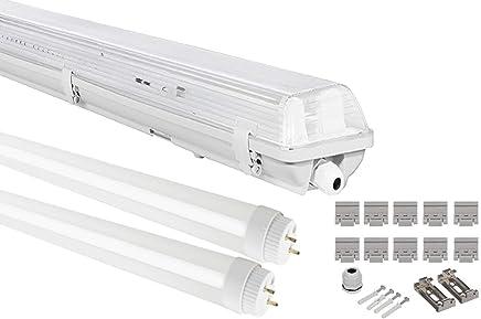 ersetzt 75 W Kalt-Wei/ß G13 Sockel Goobay 44333 LED T8-R/öhre Lichtstrom 950 Lumen Leuchtstoffr/öhre 10 W mit 60cm L/änge