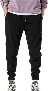 YAYUMI Men's Joggers Pants Casual Outdoor Workout Sports Beach Pants Long Trouser with Drawstring