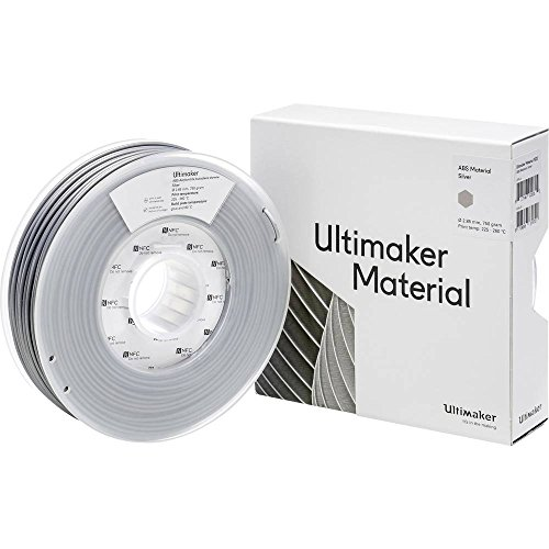 Ultimaker Filament ABS - M2560 Silver 750 - 206127 ABS 2.85 mm argento 750 g