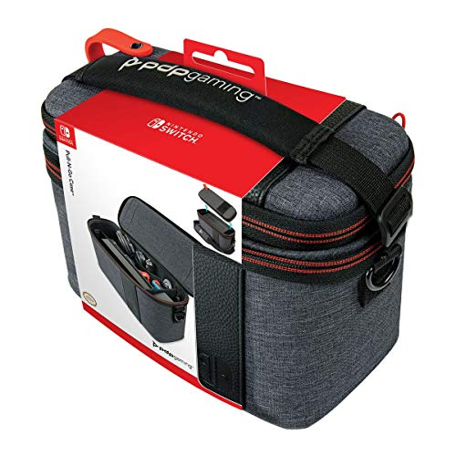 PDP Nintendo Switch Pull-N-Go Case, Elite Edition, 500-141 - Nintendo Switch