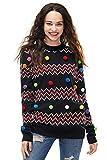 Bommel Pullover Weihnachten