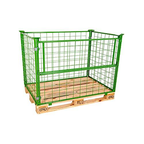 Gitteraufsatzrahmen Nutzhöhe 800 mm grün 2. Wahl