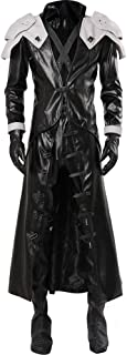 Cosplaysky Final Fantasy Costume ff VII 7 Sephiroth Cosplay Halloween Coat Two Versions