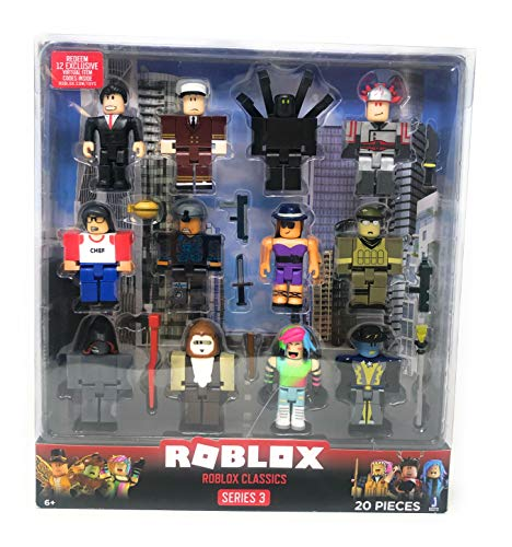 Roblox Series 3 Roblox Classics 20 Piece Set