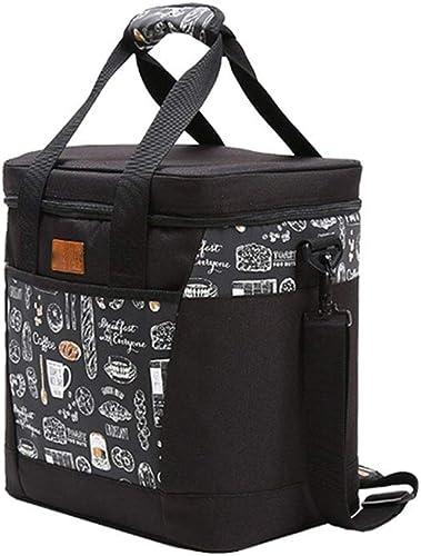 Yecanbao voitureré 13L de grande capacité portable sac de rangeHommest étanche sac de pique-nique paquet d'isolation (taille   31X22X34cm)