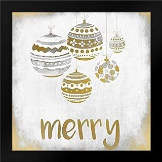 Merry Christmas Ornament Framed Art Print by Allen, Kimberly
