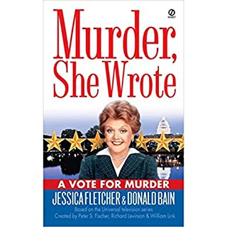 Murder, She Wrote: A Vote for Murder audiobook cover art