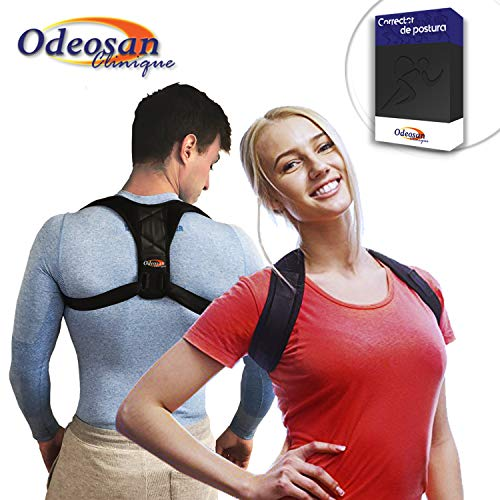 odeosan Clinique Posture Corrector for Back, Shoulder and Clavicle Perfect Men and Women Quality Unisex Adjustable Stand to improve posture and Relieve Pain Support of Column and Trunk Kyphosis
