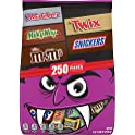 250-Piece Mars Milky Way Halloween Candy Variety Mix 77.-Oz