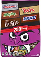 Save on M&M'S, Snickers, Twix, 3 Musketeers & Milky Way Halloween Chocolate Candy