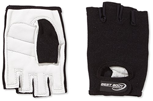 Best Body Nutrition Power Handschuh, Mehrfarbig (schwarz), XXL