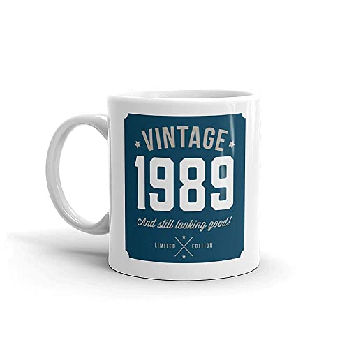 30th Birthday Gift Idea Vintage Classic Blue For Men Or Women Him