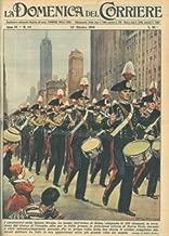 La banda dell'Arma di Roma, in occasione del Giorno di Colombo, sfila per la Fifth Avenue, principale arteria di New York.