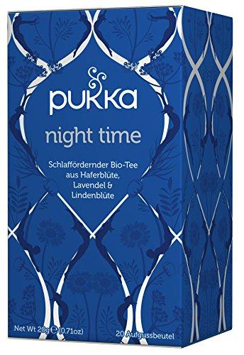 Night Time PUKKA Tee BIO 4 Packungen à 20 Teebeutel