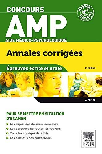 Concours AMP Aide médico-psychologique Annales corrigées