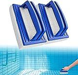 Cepillos de Esponja para Piscinas de 2 Piezas, Cepillo Manual de...