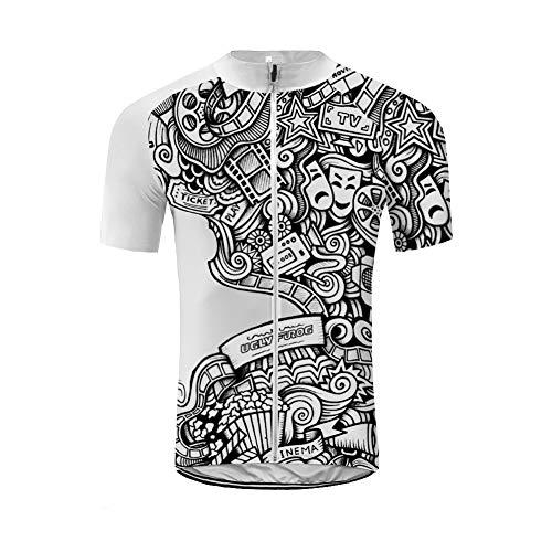 UGLY FROG MA05 2021 Neue Frühling/Sommer Fahrradtrikot Shirt Herren Breathable erren Radtrikot Schnell Trockend Atmungsaktiv Fahrrad Trikot Kurzarm