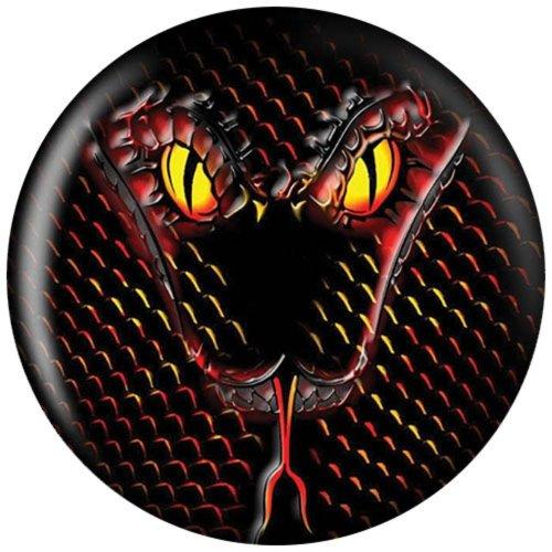 Brunswick 14 lbs, Bowling Ball Viz-a-Ball Snake