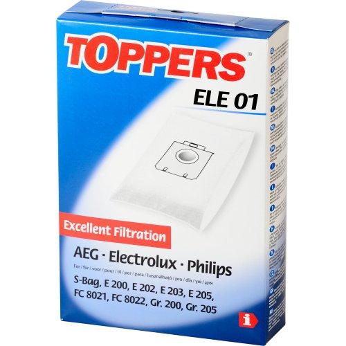 Toppers 2687241187 - Bolsas de aspiradora para AEG, Electrol