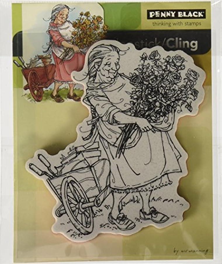 Penny Black Mummu's Roses Slapstick/Cling Stamp