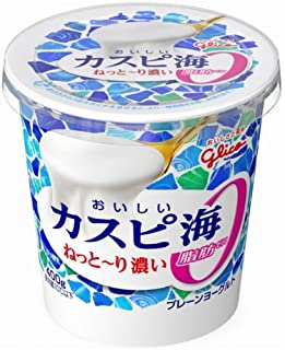 グリコ おいしいカスピ海 脂肪0%400g 6個入
