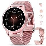 GOKOO Smartwatch Volle Touchscreen Sportuhr Schrittzähler Pulsuhren Stoppuhr...