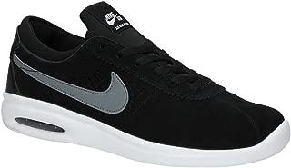 SB Air Max Bruin Vapor Black/White/White/Cool Grey Skate Shoes-Men 11.5, Women 13