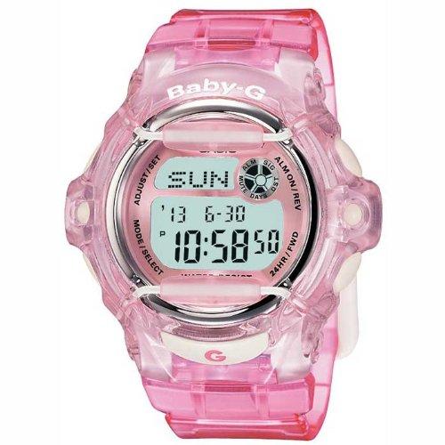 Casio Damen Digital mit Resin Armbanduhr BG 169R 4ER