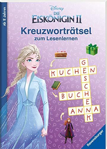 Disney Die Eiskönigin 2: Kreuzworträtsel zum Lesenlernen
