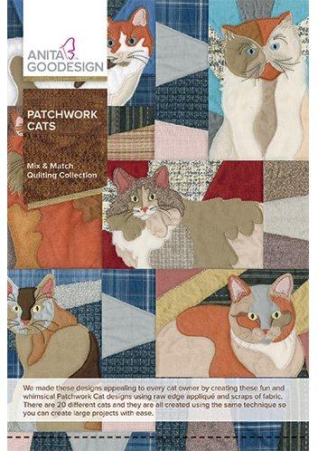 Anita Goodesign Patchwork Cats 264 AGHD
