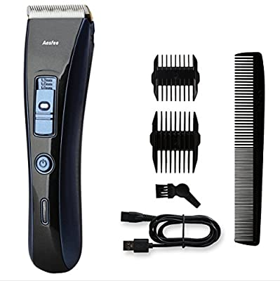 Hair Clipper Cordless, Mens Hair Clippers Set Rechargable Clippers Hair Trimmer Beard Shaver Electric Haircut Kit Ceramic Blade for Men and Family Use