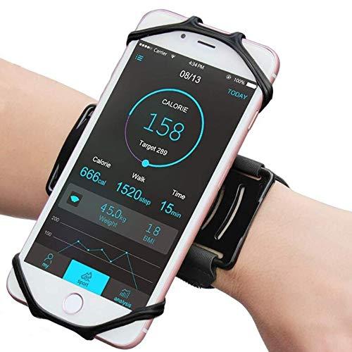 Laufen Outdoor Fitness Handy Halterung Rotating Arm mit Handy-Rack Sportgerät Arm-Beutel Kreativ: Arm Huangchuxin