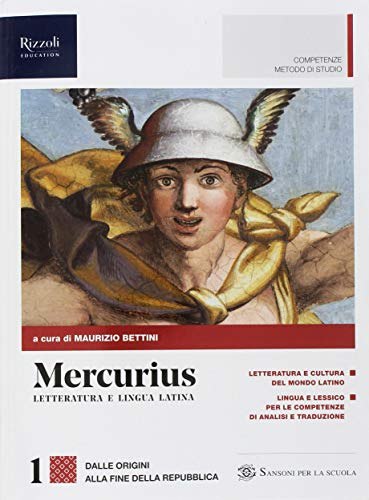 Mercurius. Letteratura e lingua latina. (Adozione tipo B). Per le Scuole superiori. Con ebook. Con espansione online (Vol. 1)