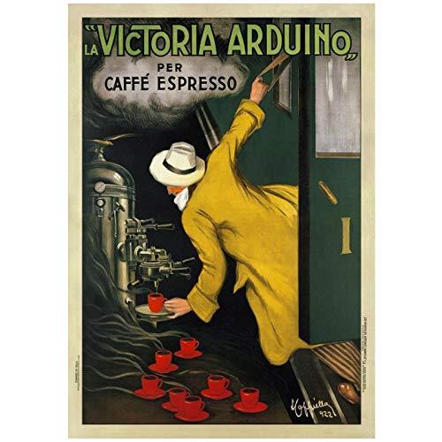 DrCor Vintage Reise Victoria Arduino Poster und Drucke Leinwand Malerei Wohnzimmer Wandkunst Home Decoration Geschenk -50x70 cm No Frame 1Pcs