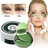 Under Eye Pads, Collagen Eye Mask, Eye Treatment Mask, Puffy Eyes, Eye Patches, Natural Eye Mask with Anti Aging,Dark...