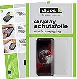 dipos I 2X Schutzfolie matt kompatibel mit Sharp B10 Folie Bildschirmschutzfolie
