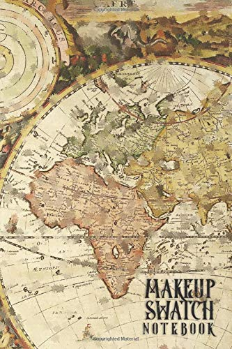 Makeup Swatch Book: A DIY Catalog of Favorite Lip Eye and Skin Make-up for the Steampunk Fashion Lover