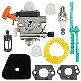 Yermax C1Q-S131 C1Q-S174 Carburetor Carb for Stihl FS87 FS90 FC95 FS100 FS110 HL100 HL90 KM90R String Hedge...